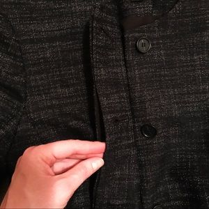 Ann Taylor Jackets & Coats - Ann Taylor 10P Black Stretch Button Blazer Jacket